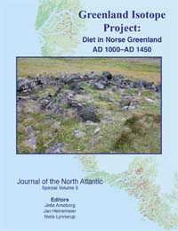 Greenland Isotope Project: Diet in Norse Greenland AD 1000-AD 1450